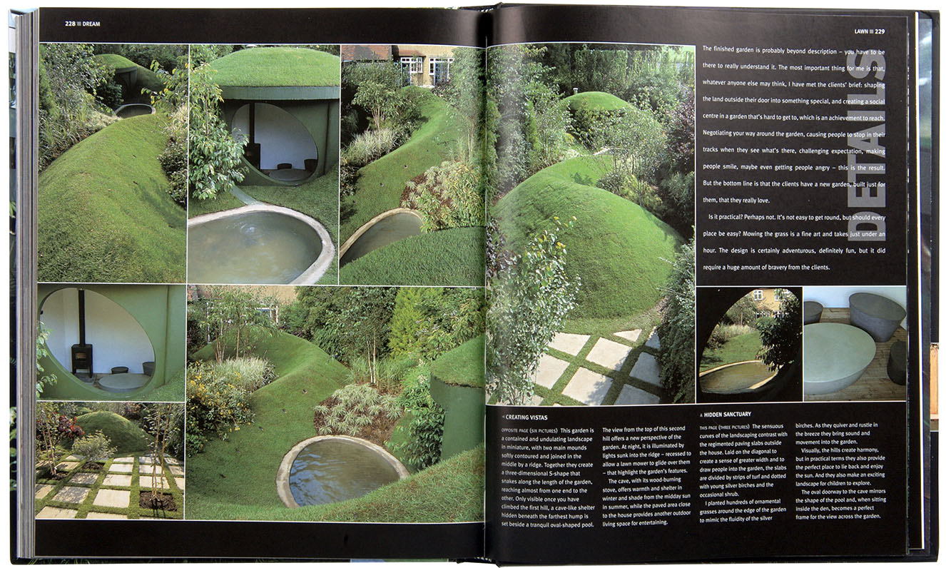 outer spaces garden design book with diarmuid gavin