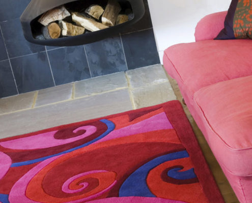 Product photography for Anna V Rugs