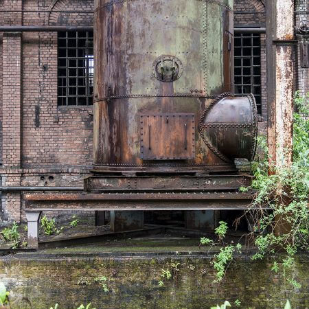 Derelict Steel Works near Dusseldorf