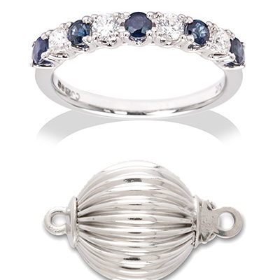 Product photography for Dawes Jewellery