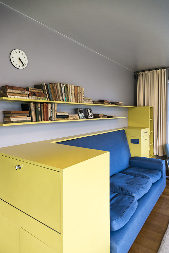 Book Cases in Study, Sonnefeld House Rotterdam 171118wc807581