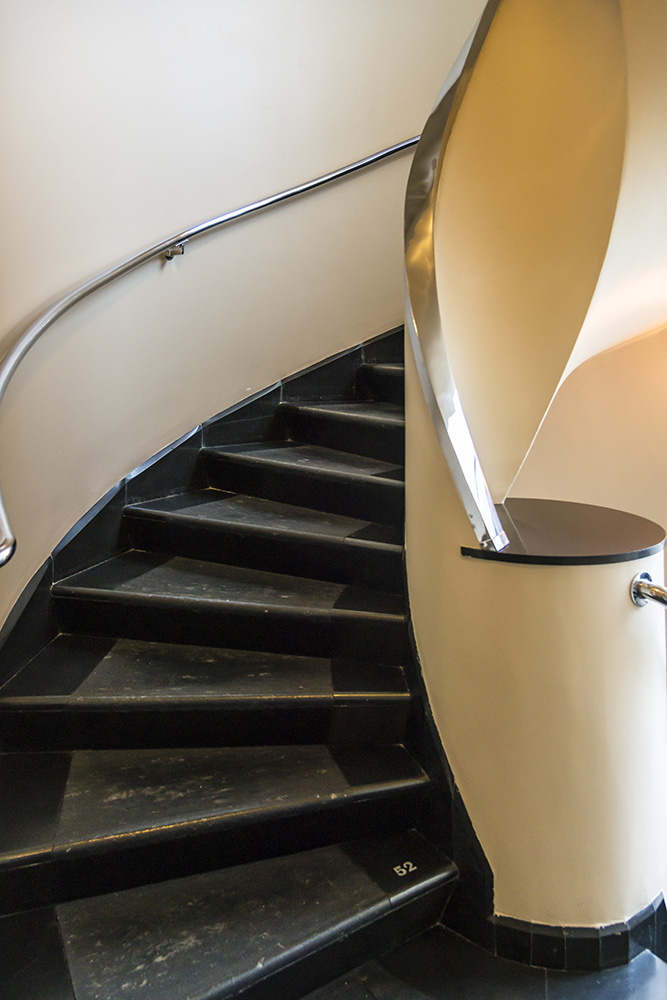 Spiral Staircase, Sonnefeld House Rotterdam 171118wc807634