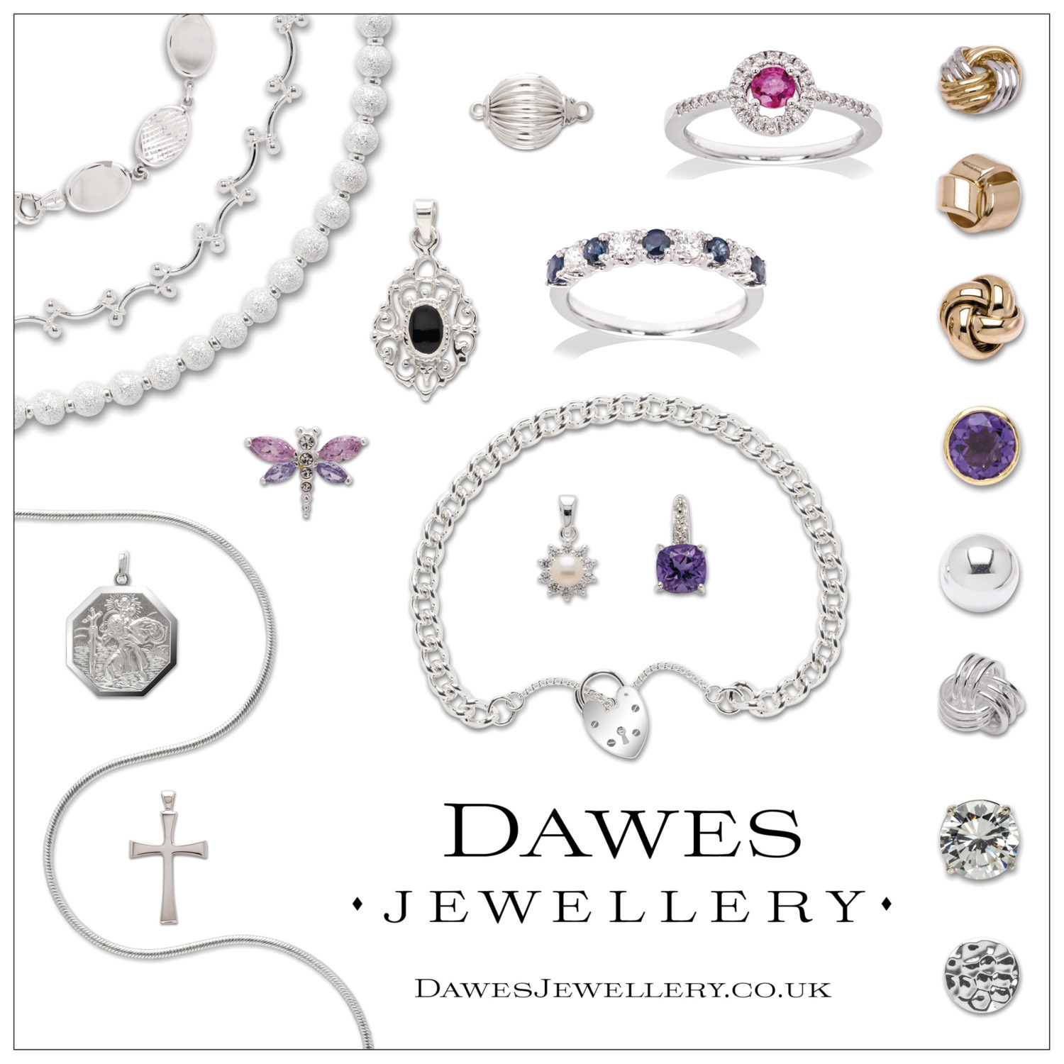 Dawes Jewellery Square Designs