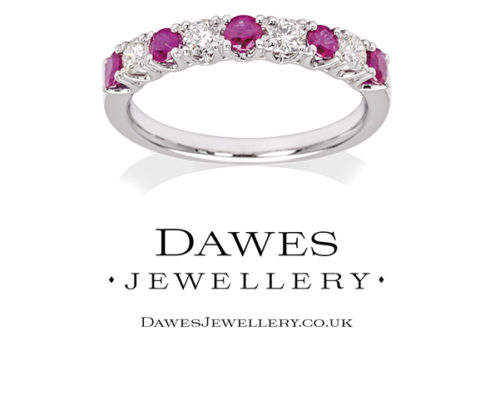 Dawes Jewellery Graphic Designs