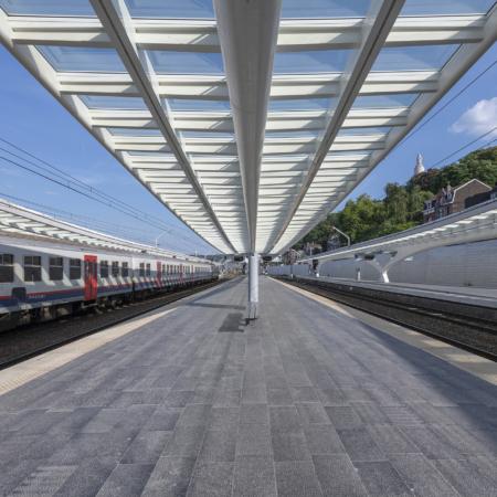 Liege Guillemins Intercity Railway Station by Santiago Calatrava