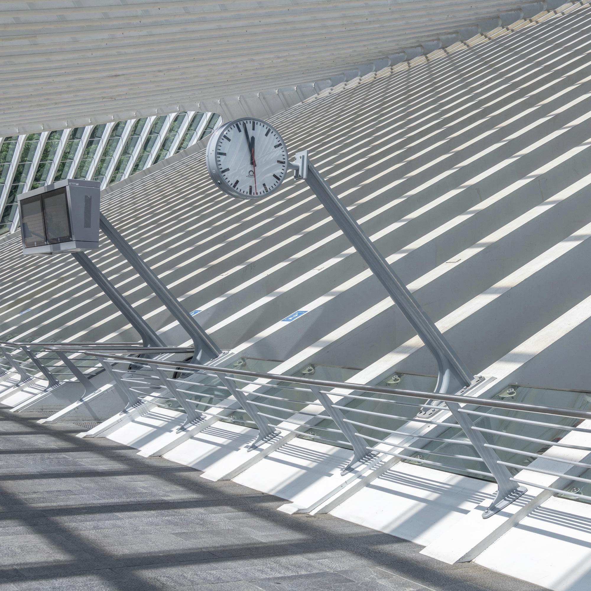 Liege Guillemins Station by Santiago Calatrava