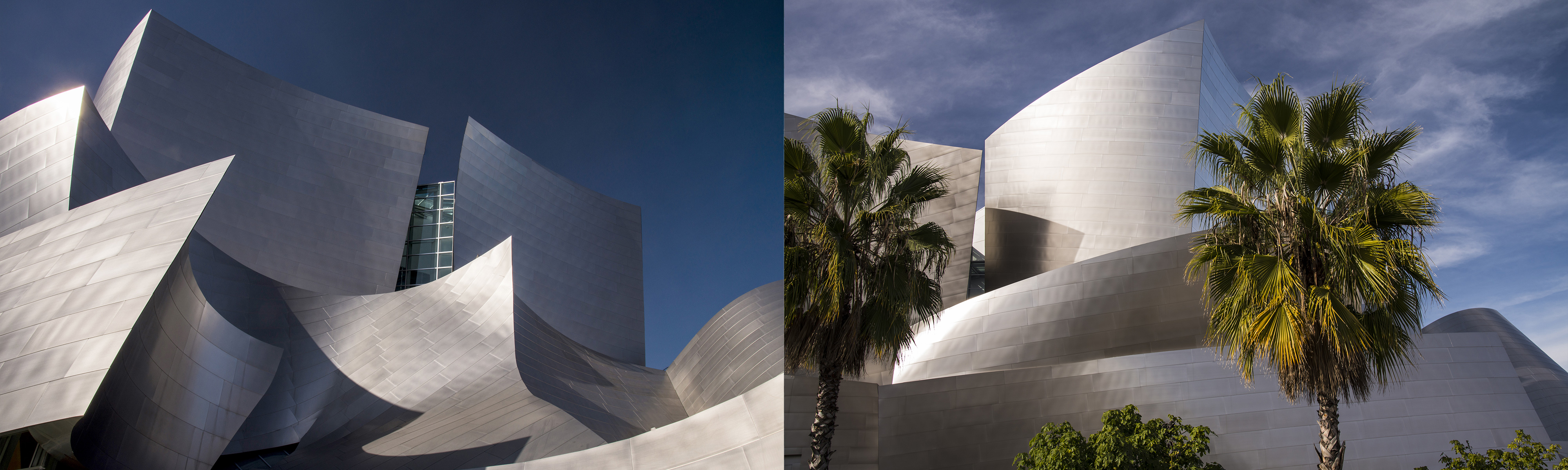 Walt Disney Concert Hall in Los Angeles, by architect Frank Gehry