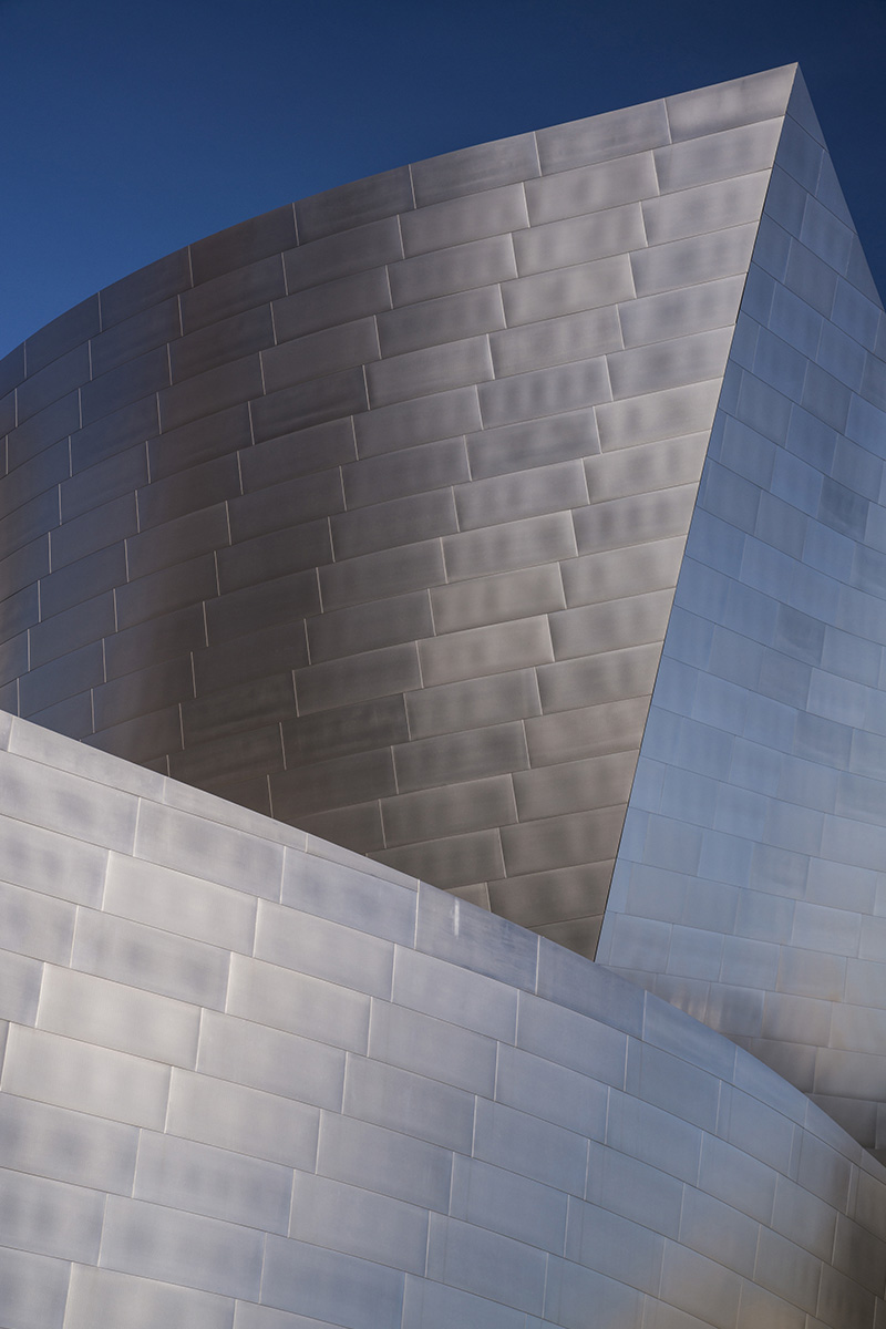Walt Disney Concert Hall in Los Angeles, travel photographs by architect Frank Gehry