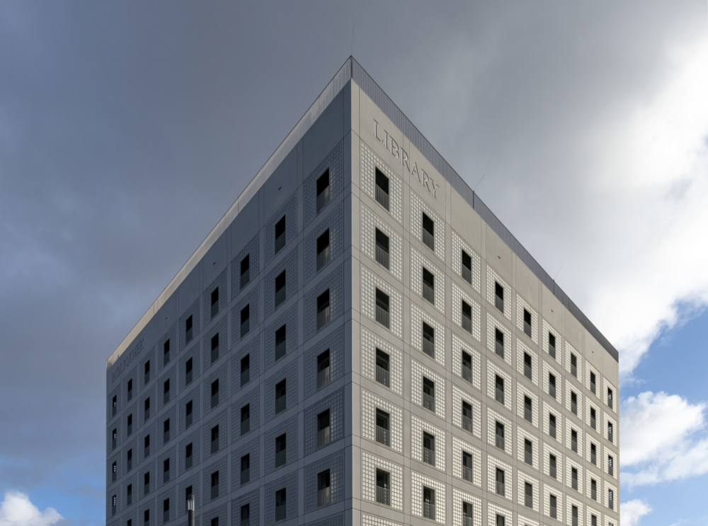 Stuttgart Library Exterior