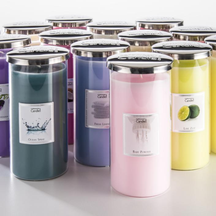 Copenhagen Candles product photography