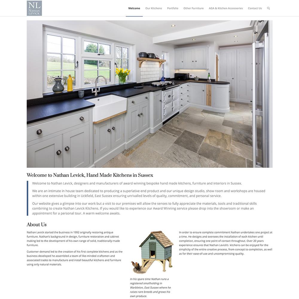 Kitchen Design Tunbridge Wells: Nathan Levick Kitchens: Website Design By Colin Walton