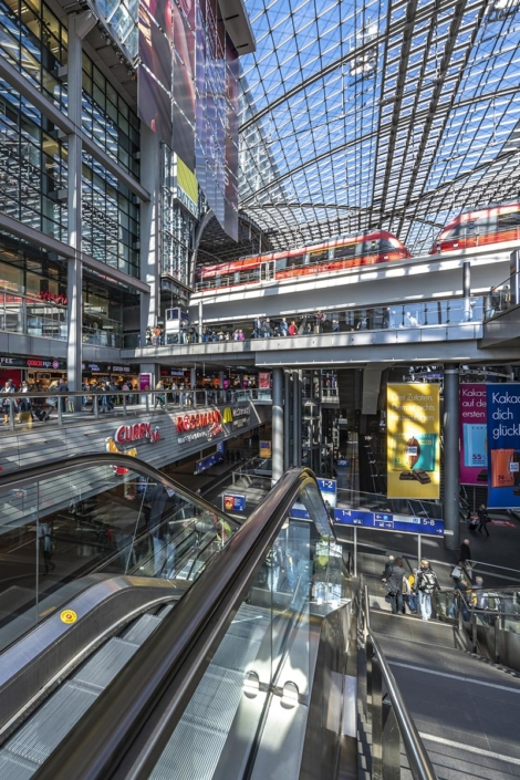 Berlin Hauptbahnhof Station shot by WaltonCreative