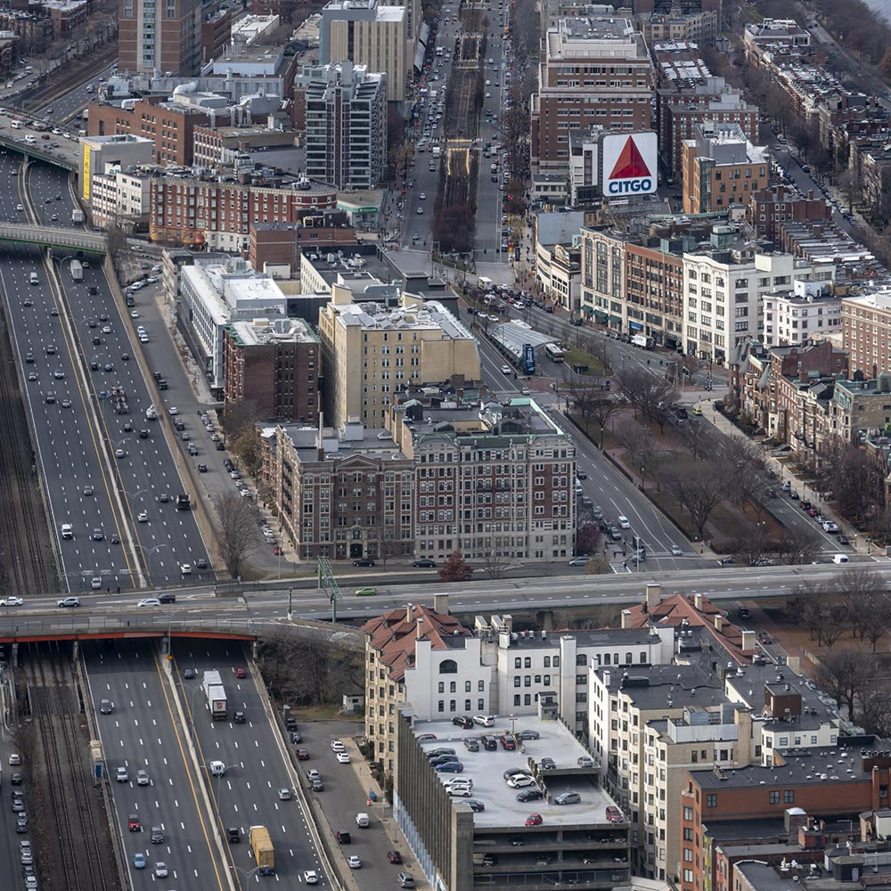 Boston from the Prudential Building - 181129wc856822-2