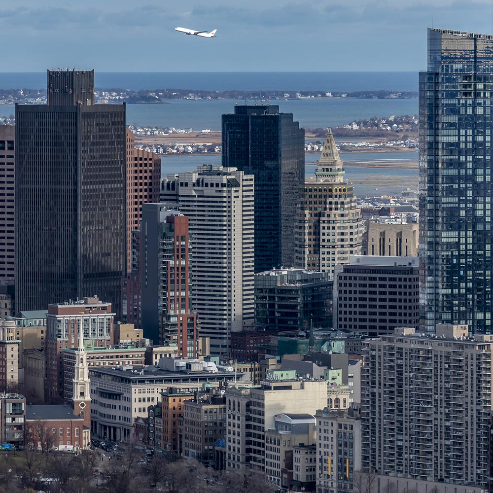 Boston from the Prudential Building - 181129wc856861-3