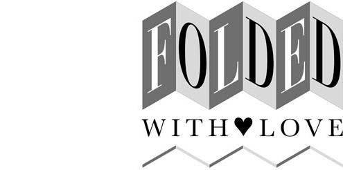 Folded With Love logo 500w