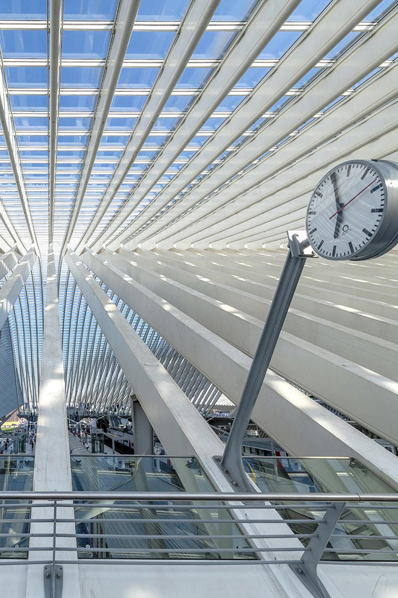Liege Guillemens Station by Santiago Calatrava