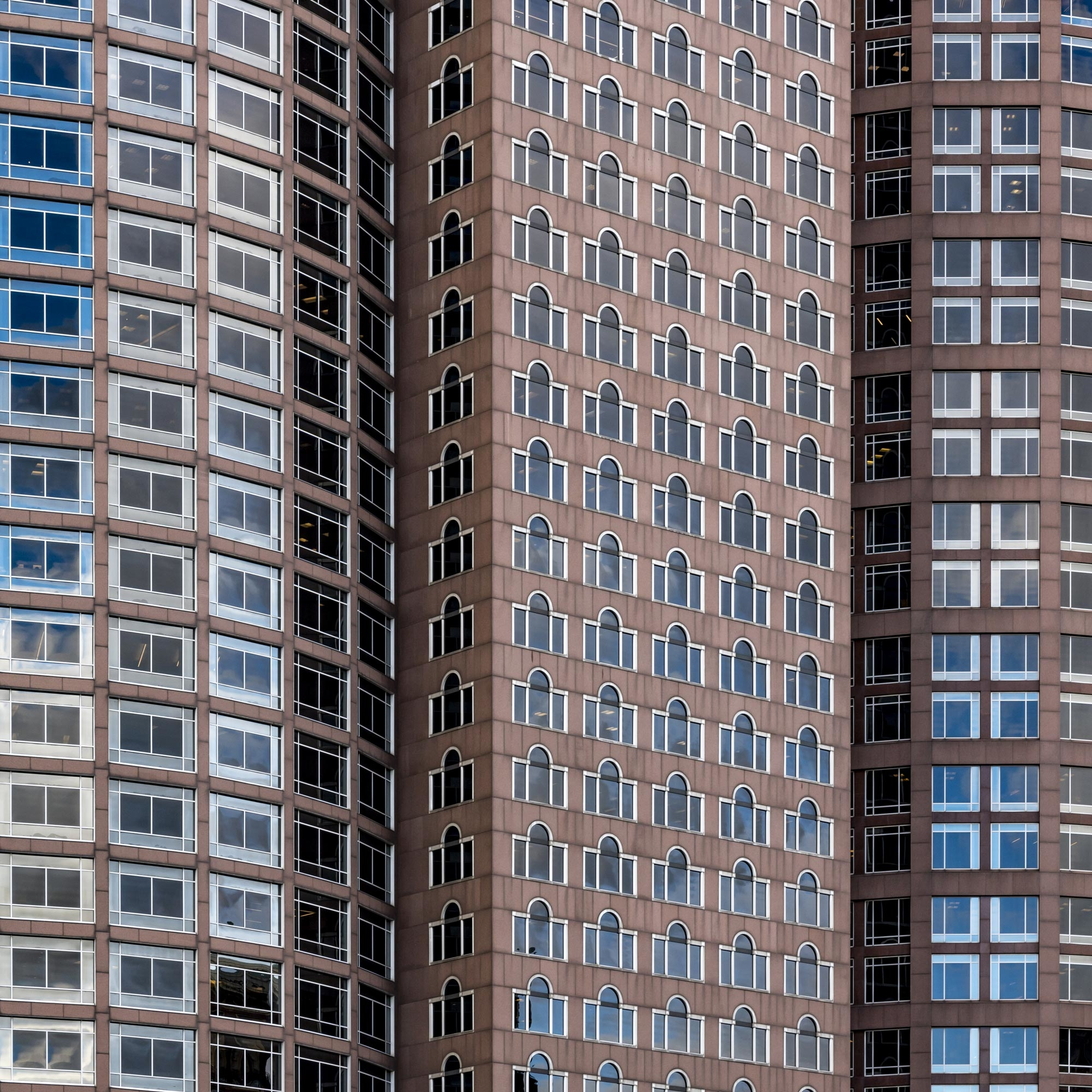 Patterns - Tower Blocks Boston Financial District