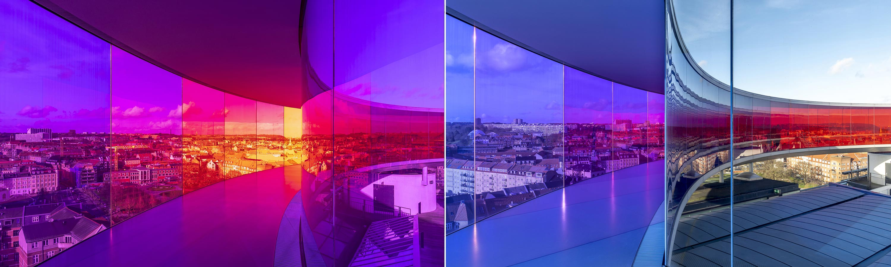 Your Rainbow Panorama by Olafur Eliasson photographed by Colin Walton at WaltonCreative