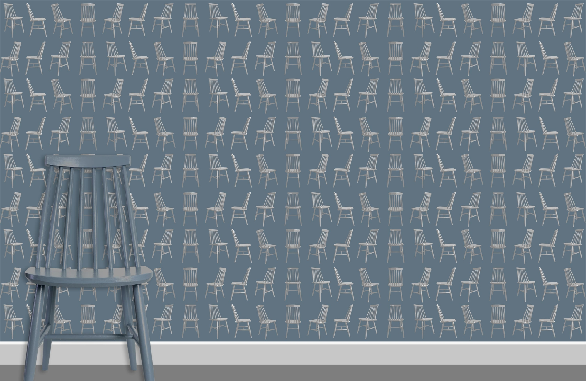 Mid Century Chairs Pattern G 3L