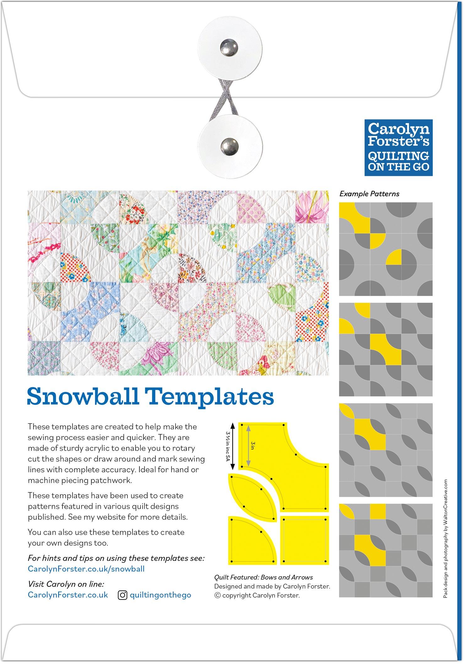 Carolyn Forster Snowball Packaging BACK