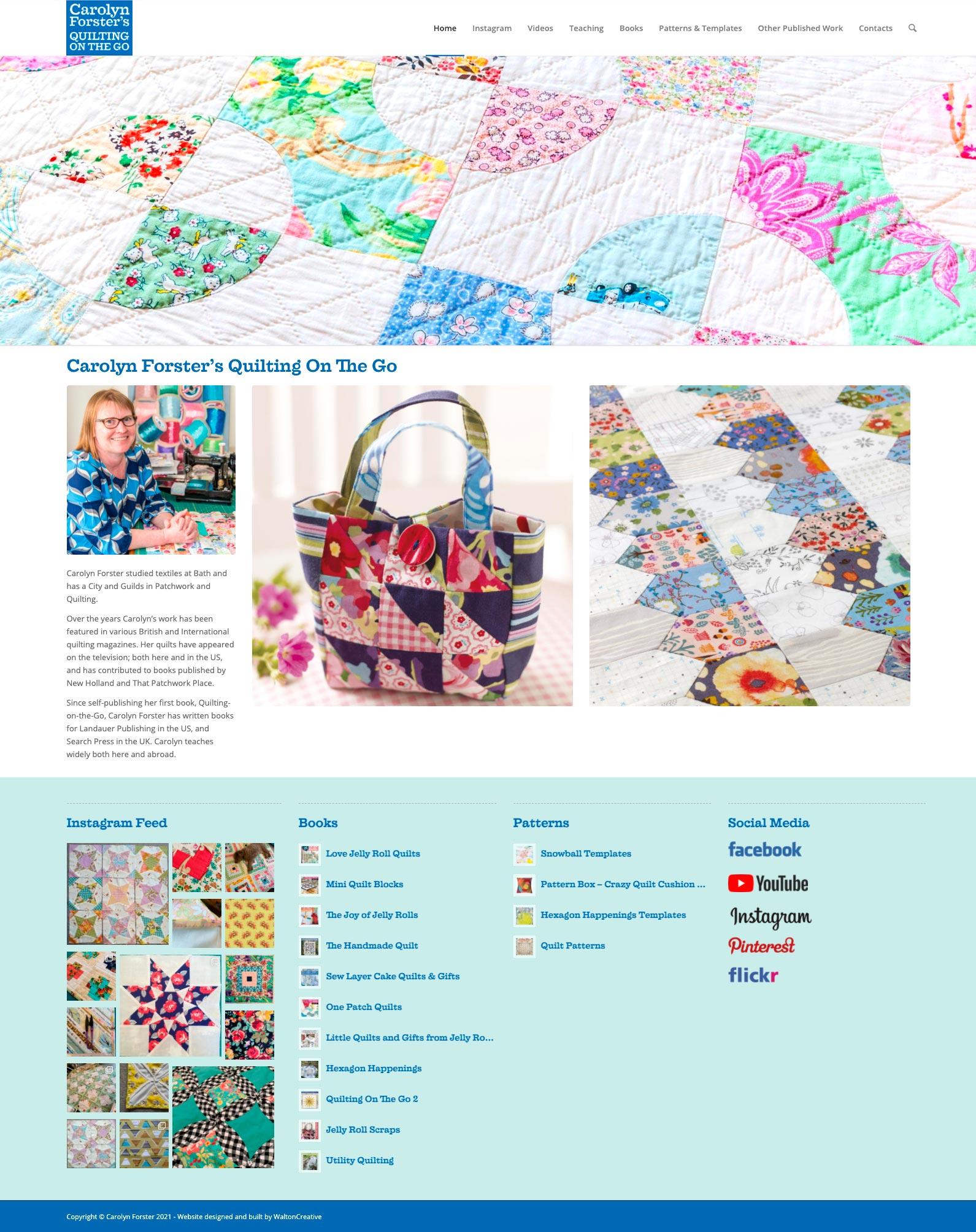 Carolyn Forster's Website Design 1 Home