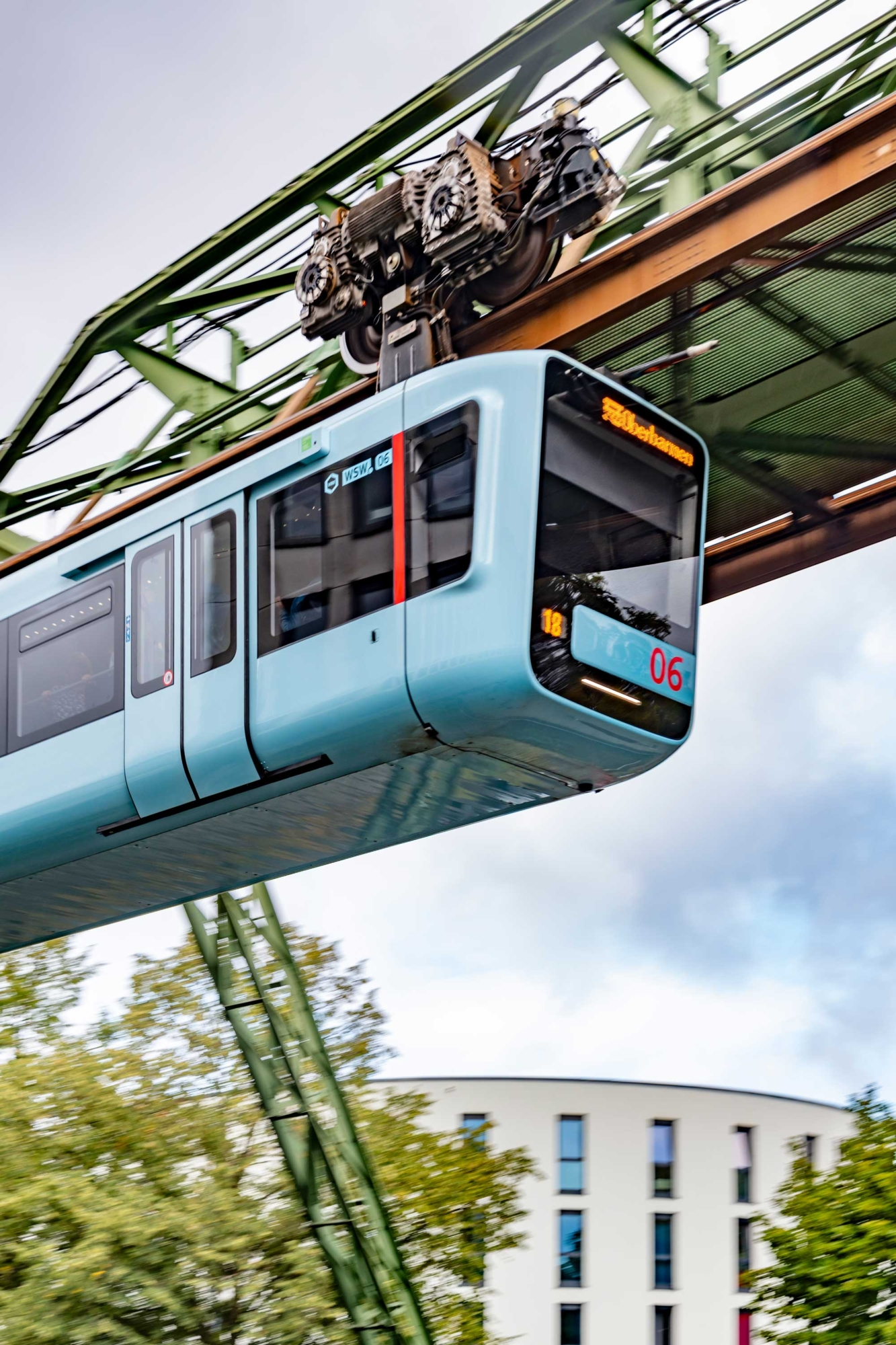 Wuppertal Schwebebahn Monorail, Germany 190905wc859430