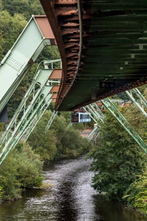 Wuppertal Schwebebahn Monorail, Germany 190905wc859559