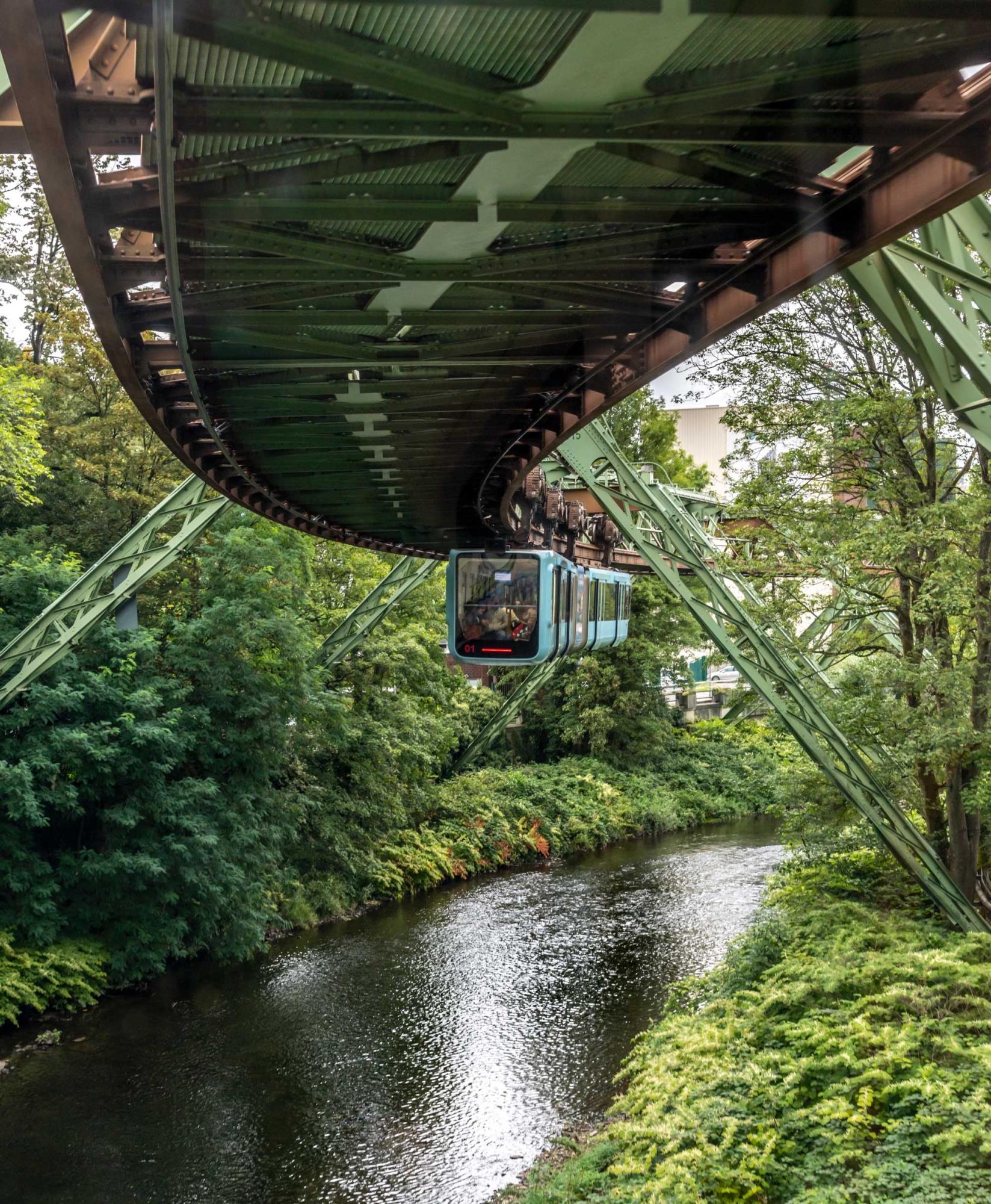Wuppertal Schwebebahn Monorail, Germany 190905wc859592