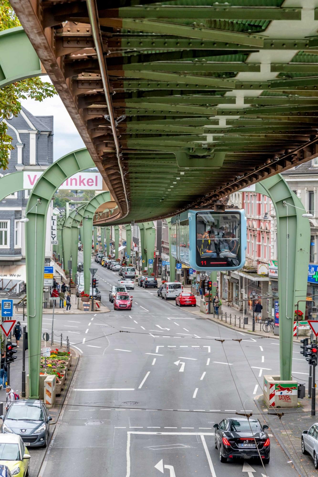 Wuppertal Schwebebahn Monorail, Germany 190905wc859605