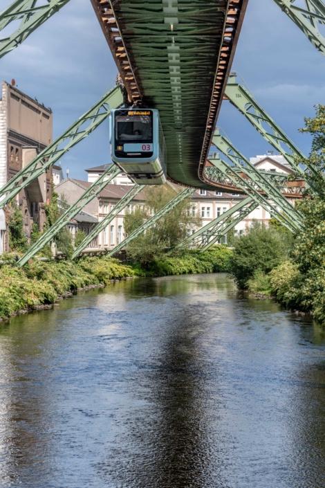 Wuppertal Schwebebahn Monorail, Germany 190905wc859633-2