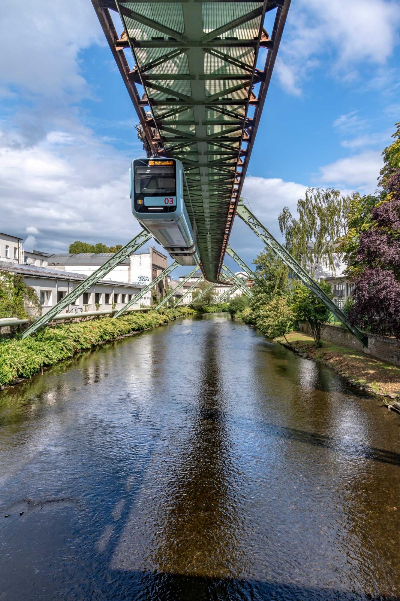 Wuppertal Schwebebahn Monorail, Germany 190905wc859635
