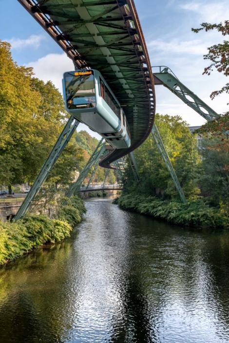Wuppertal Schwebebahn Monorail, Germany 190906wc859723