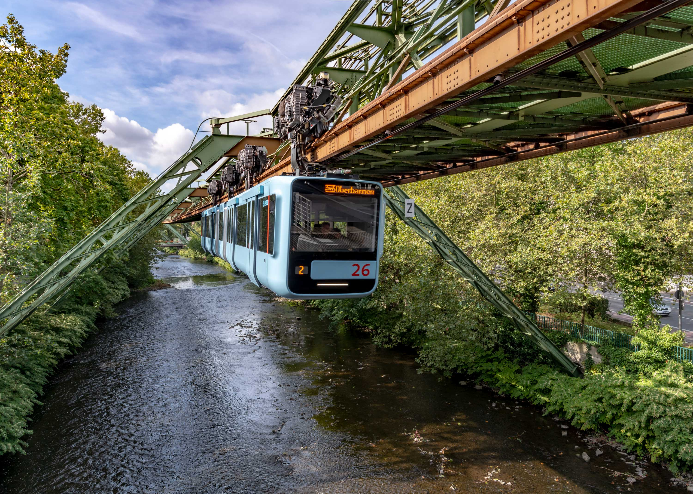 Wuppertal Schwebebahn Monorail, Germany 190906wc859881