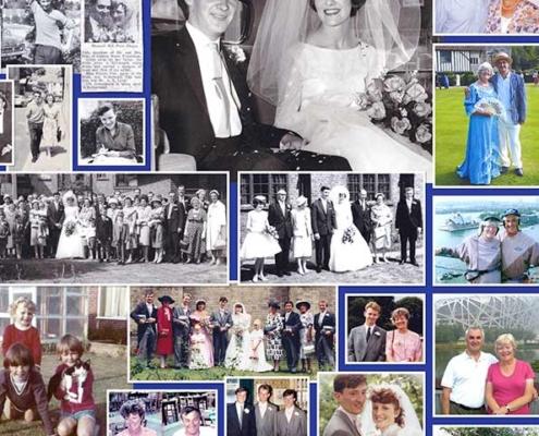 Graphic Design FEATURED 60th- Wedding Anniversary