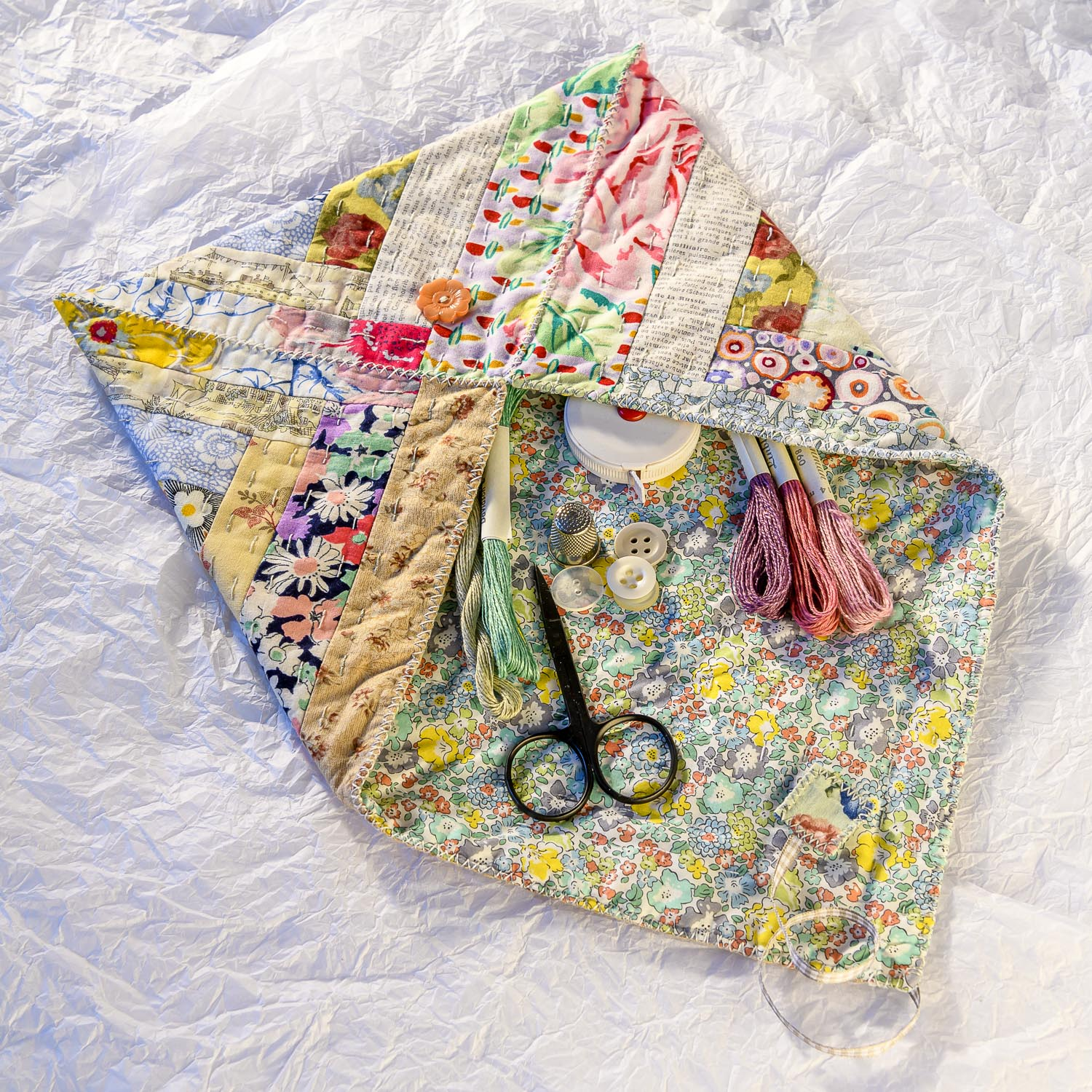 Quilted Patchworks by Carolyn Forster for Fox Chapel 210826wc853839