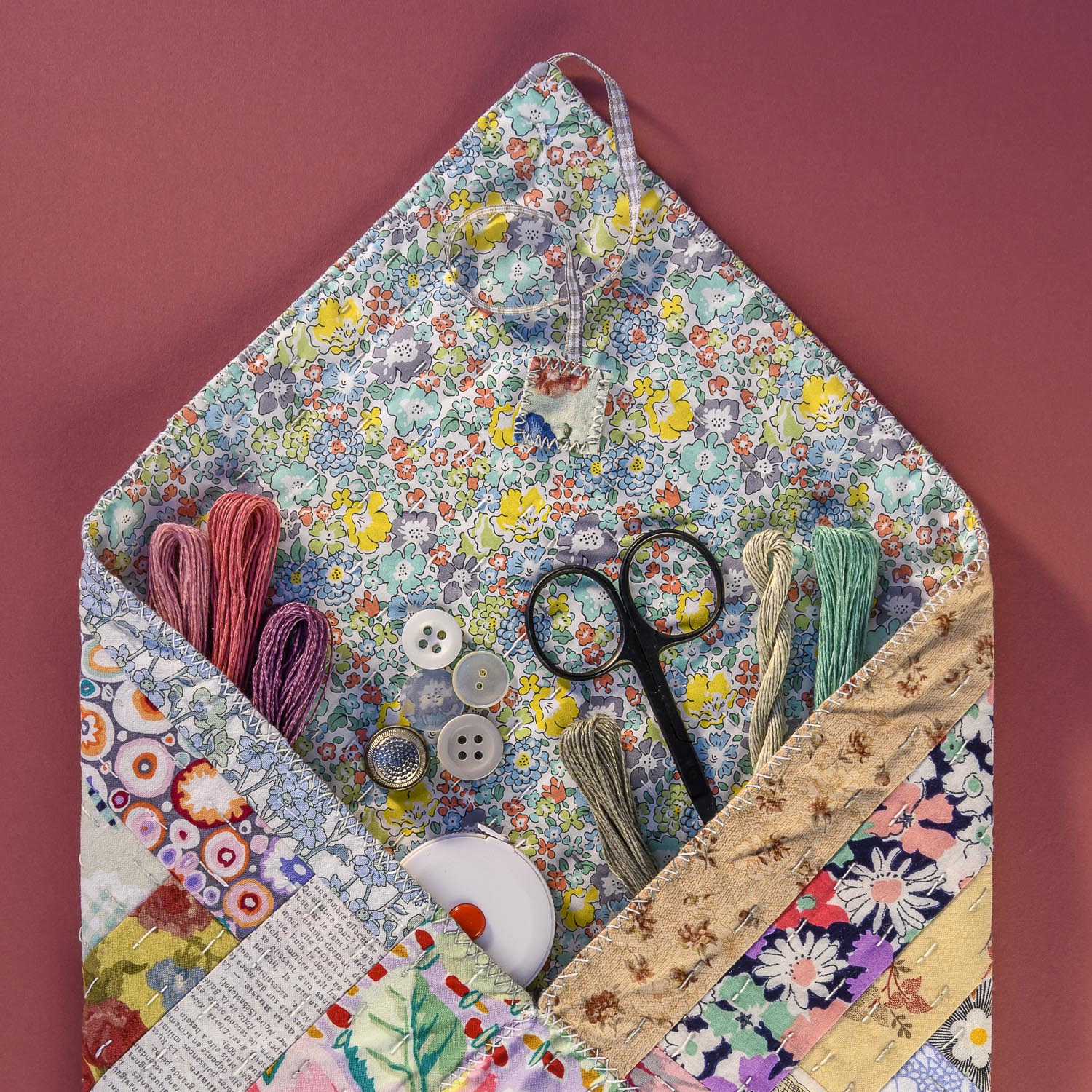 Quilted Patchworks by Carolyn Forster for Fox Chapel 210826wc853855