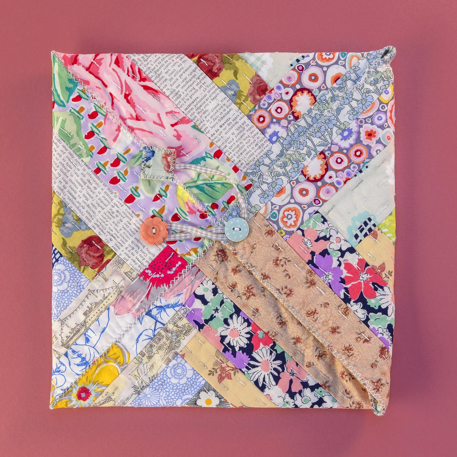 Quilted Patchworks by Carolyn Forster for Fox Chapel 210826wc853862